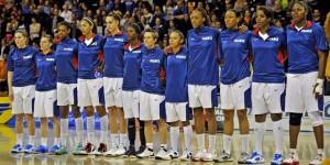 équipe féminine fançaise de basket