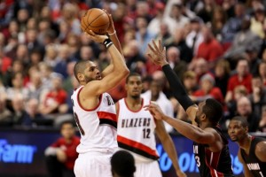 BASKET BALL : Portland Trail Blazers vs Miami Heat - NBA - 08/01/2015