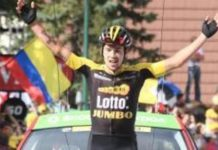 Tour de France 2017, étape 17, Primoz Roglic