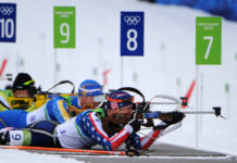 Sport santé, biathlon, ski de fond, tir à la carabine