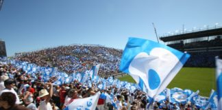 les supporters du Racing 92