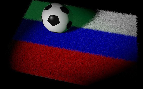 football russe