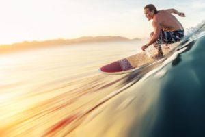 softboard ; planche de surf